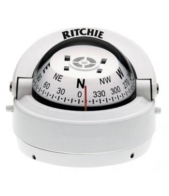 Kompas Ritchie S-53W wolnost. - biały