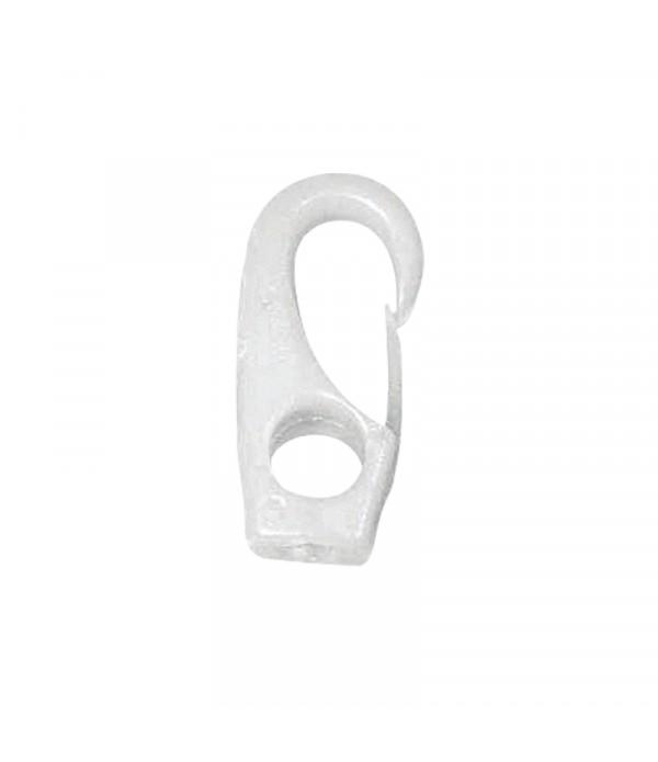 Karabińczyk plast.10 mm