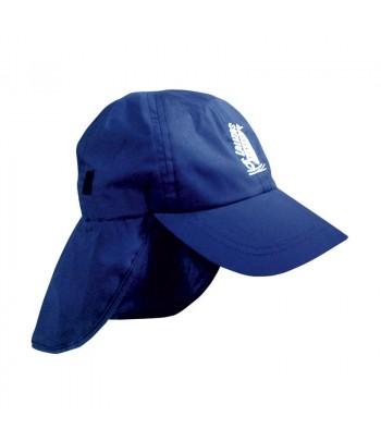 Czapka Lalizas z osłoną na szyję -  niebieska