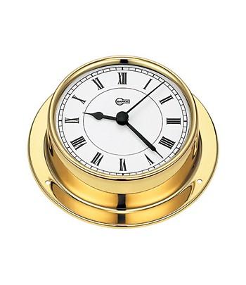 Zegar kwarcowy TEMPO S - 70mm mosiądz  BARIGO