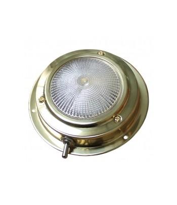 "Lampa kabinowa 4"" - mosiądz"