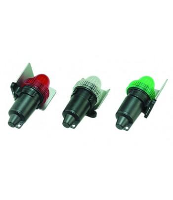Lampy LED nawigacyjne na baterie - zestaw 3szt