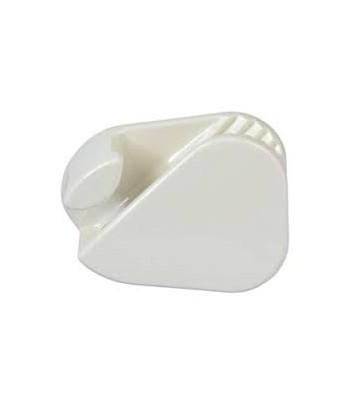"""Knaga Clamcleat CL223 do liny 3-6 mm """"kostka mała"""" PVC biała"""