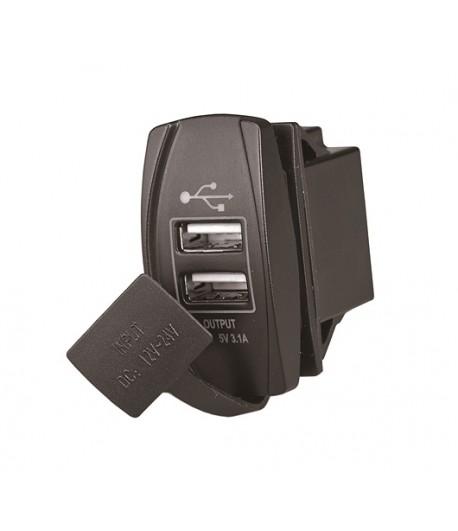 Gniazdo USB x 2 do ramki