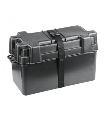 Pojemnik na akumulator - duży czarny