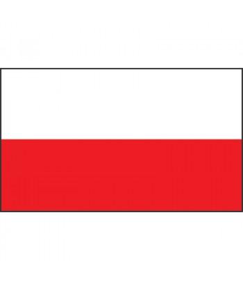 Banderka Polska 20x30cm