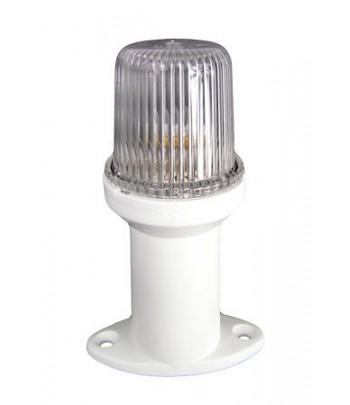 Lampa LALIZAS nawigacyjna na podstawie 15 cm - biała