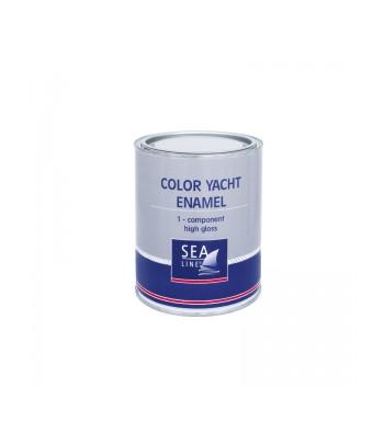 Farba SEALINE 1K poliur. czerwona 750ml