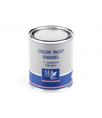 Farba SEALINE 1K poliur. czarna 750ml