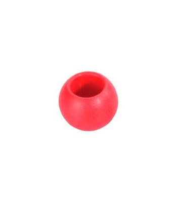 Kulka 50mm czerwona - zakończenie liny do 12 mm