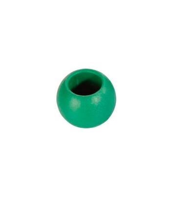 Kulka 50mm zielona - zakończenie liny do 12 mm