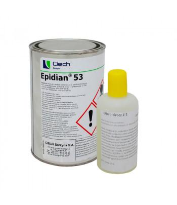 Żywica Epidian 53 1kg + Z1 125 ml