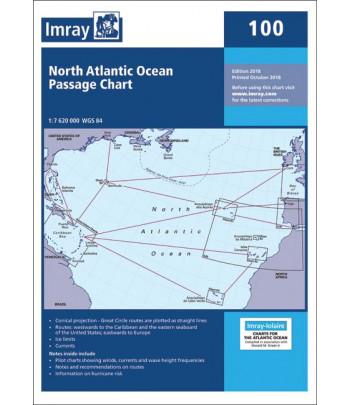 Mapa IMRAY 100 - Północy Atlantyk