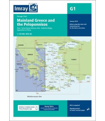 Mapa IMRAY G 1 - Grecja/Peloponez