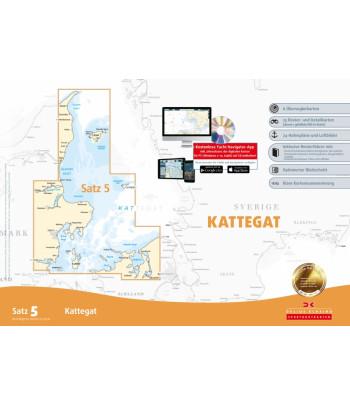 Mapy Bałtyk - Kattegat