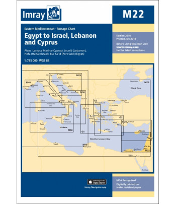 Mapa IMRAY M22 - Izrael