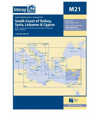 Mapa IMRAY M21 - Cypr