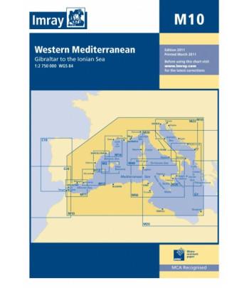 Mapa IMRAY M10 - Śródziemne Zach.