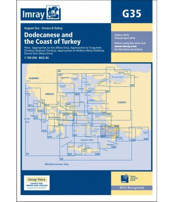 Mapa IMRAY G35 - Turcja Bodrum-Kos