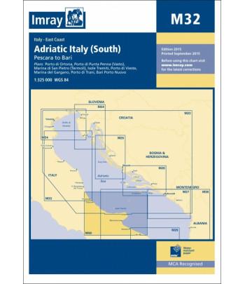 Mapa IMRAY M32 - Adriatyk Italia Południe