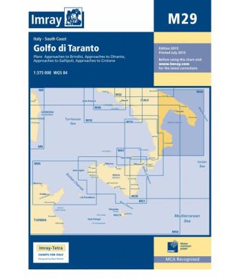 Mapa IMRAY M29 - Jońskie/Zatoka Tarencka