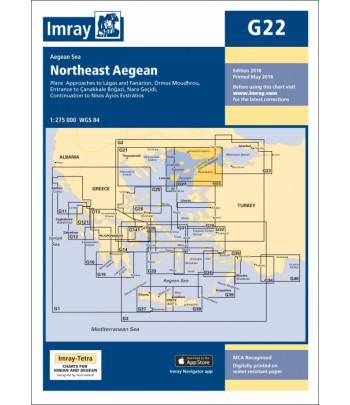 Mapa IMRAY G22 - Egejskie Północ/Wschód