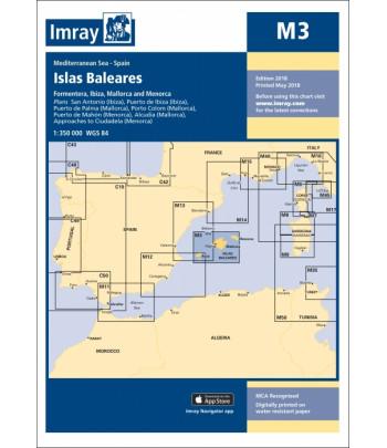 Mapa IMRAY M 3 - Baleary