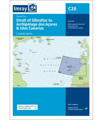 Mapa IMRAY C20 - Gibraltar, Kanary