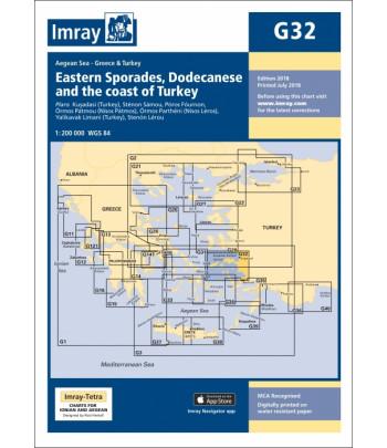Mapa IMRAY G32 - Grecja Samos