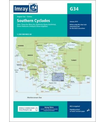 Mapa IMRAY G34 - Grecja Dodekanez