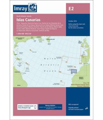 Mapa IMRAY E2 - Kanary