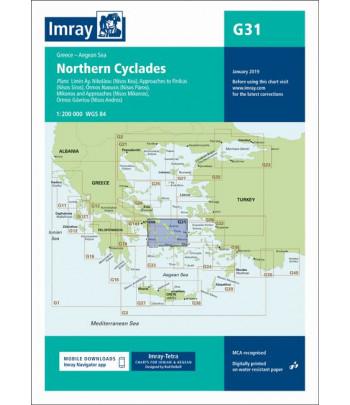 Mapa IMRAY G31 - Cyklady Północ