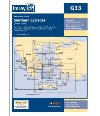 Mapa IMRAY G33 - Cyklady Południe