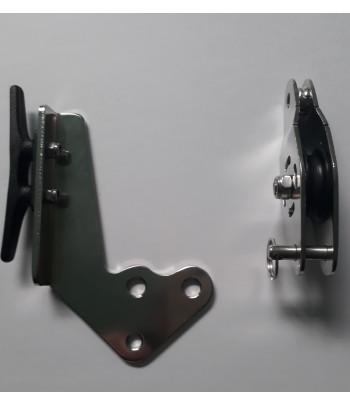 Bloczek rolera zwrotny z knagą M14