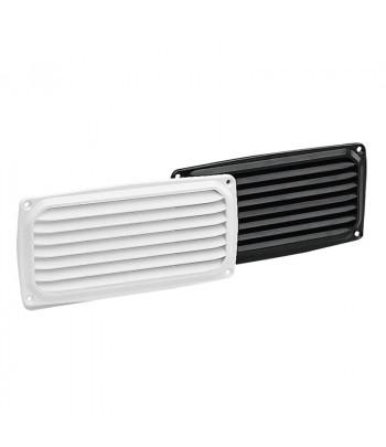 Wywietrznik-kratka plast. 201x101 mm czarna