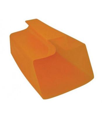 Czerpak wody pomarańczowy