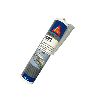 Sikaflex 591 biały - hybrydowy 300 ml