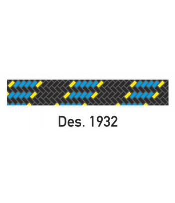 Lina 8 pes Levante czarno-błękitna