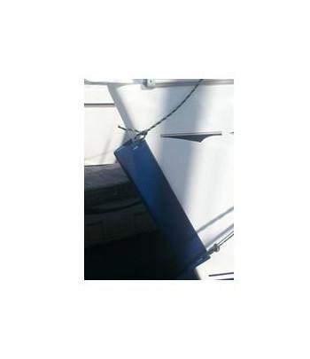 Odbijacz dziobowy podłużny 60 cm - czarny Bowfender
