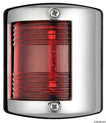 Lampa nierdzewna burtowa- czerwona