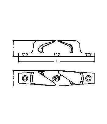 Półkluza skośna 115R - prawa