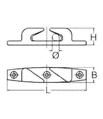 Półkluza skośna 150R - prawa
