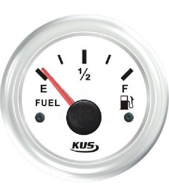 Wskaźnik poziomu paliwa biały WW KUS 0-190