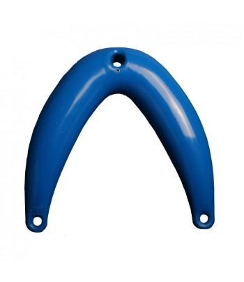Odbijacz dziobowy mały 9 cm x 70 cm - niebieski  Bowbuoy 1