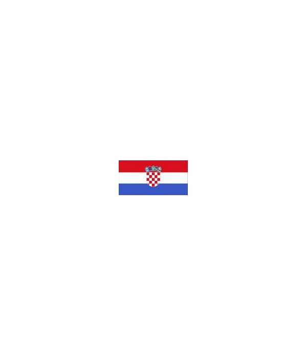 Banderka Chorwacja 20x30