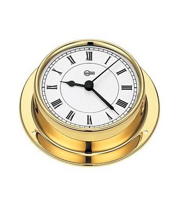 Zegar kwarcowy TEMPO - 85mm mosiądz  BARIGO