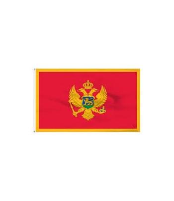 Banderka Czarnogóra 20 cm x 30 cm