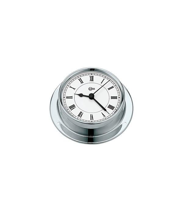 Zegar kwarcowy TEMPO - 85mm  chrom   BARIGO