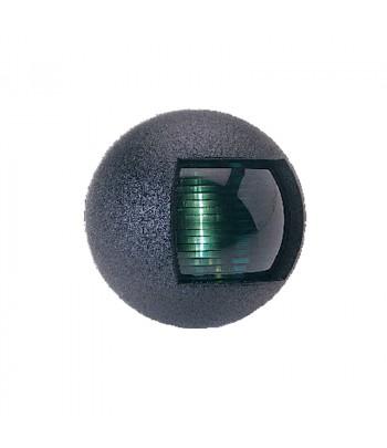 Lampa LALIZAS zielona okrągła 30061 czarna obudowa