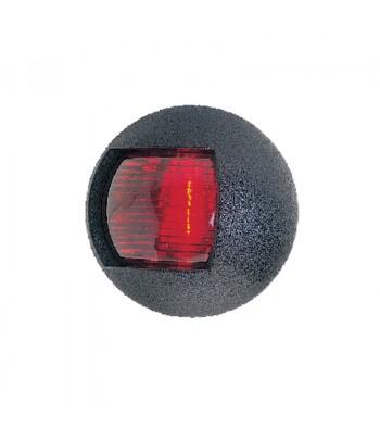 Lampa LALIZAS czerwona okrągła 30062 czarna obudowa